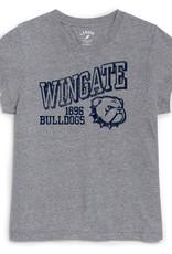 League Grey Intramural Crew  Wingate 1896 Bulldogs New Head SS Tee