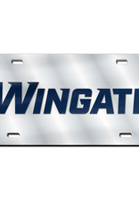 Wincraft Wingate Inlaid Mirrored License Plate