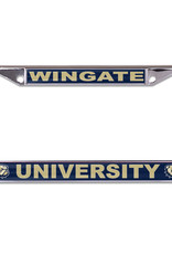 Wincraft New Wingate University Dog Head Laser Cut License Frame