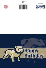 The Fanatic Group 5 x 7 Happy Birthday Go Bulldogs Card