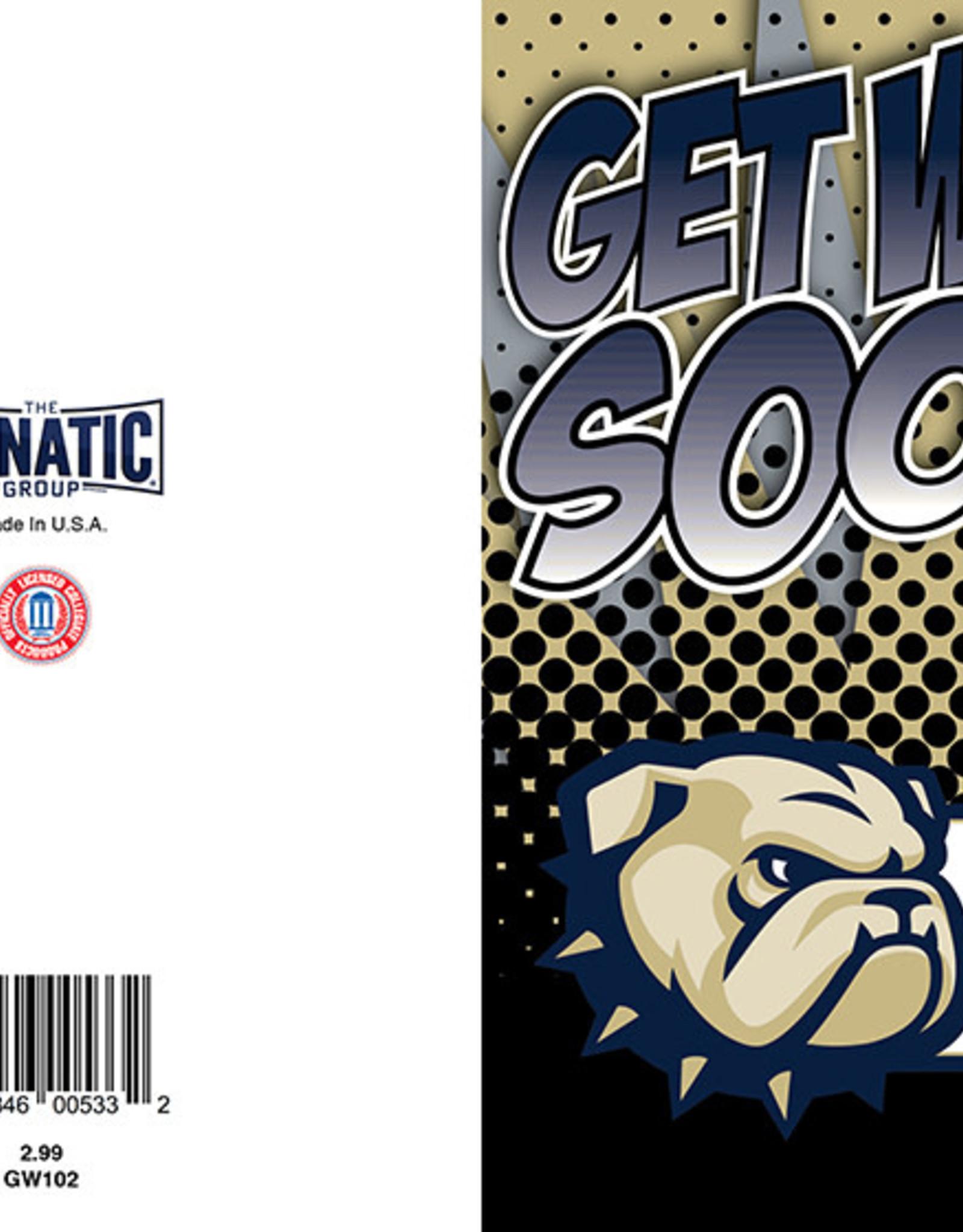 The Fanatic Group 5 x 7 Get Well Soon Go Bulldogs Card