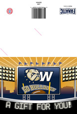 The Fanatic Group 5 x 7 A Gift For Your Go Bulldogs Gift Card Holder