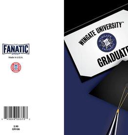 The Fanatic Group 5 x 7 WU Seal Graduate Go Bulldogs Card