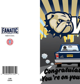 The Fanatic Group 5 x 7  Congratulations You're On Your Way Graduation Card