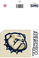 The Fanatic Group 5 x 7 Wingate Go Bulldogs Card