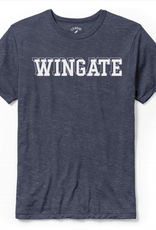 League Heather Navy Wingate Victory Falls SS Tee