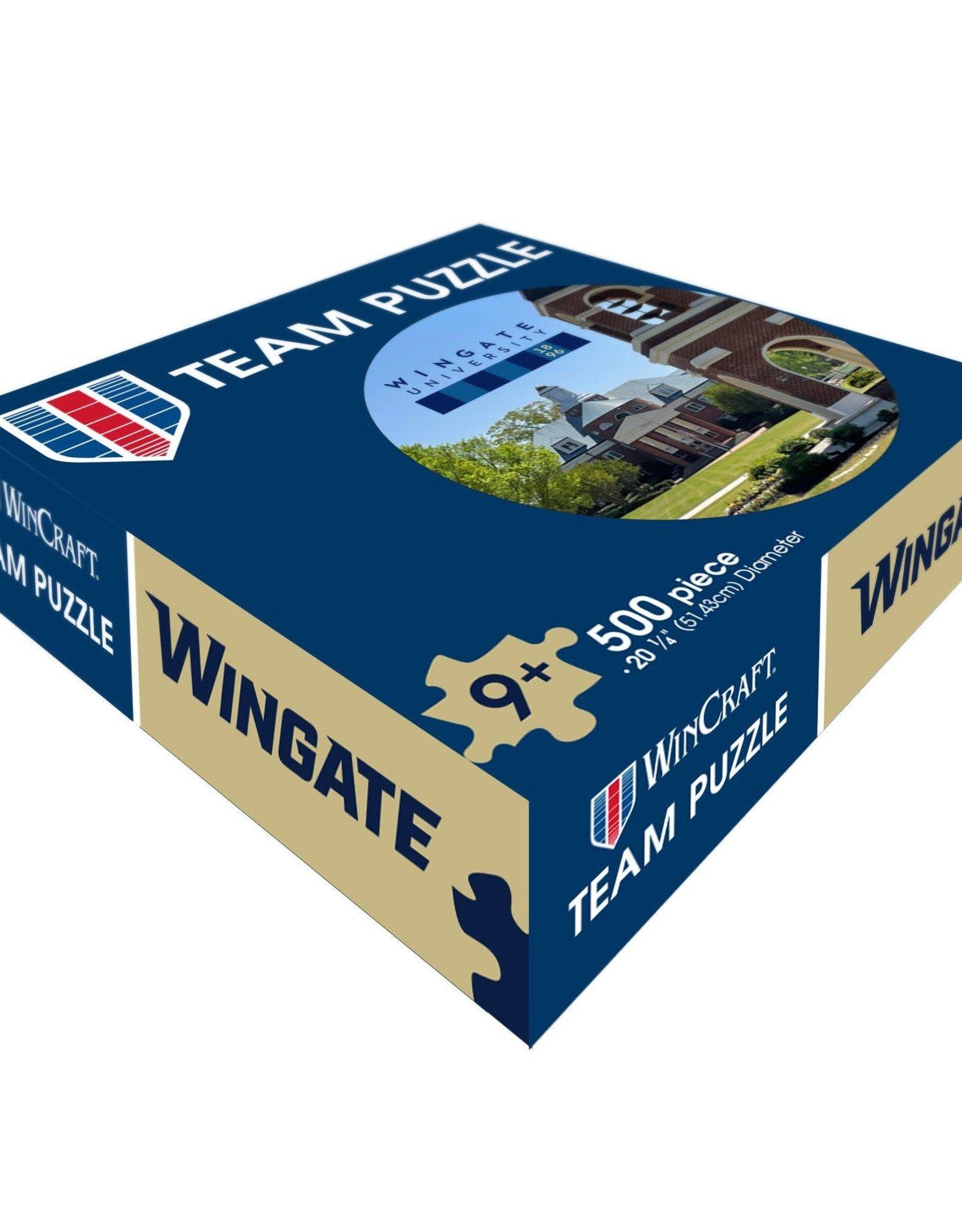 """Wincraft 20.25"""" Round Stegall Wellspring 500 Piece Puzzle"""