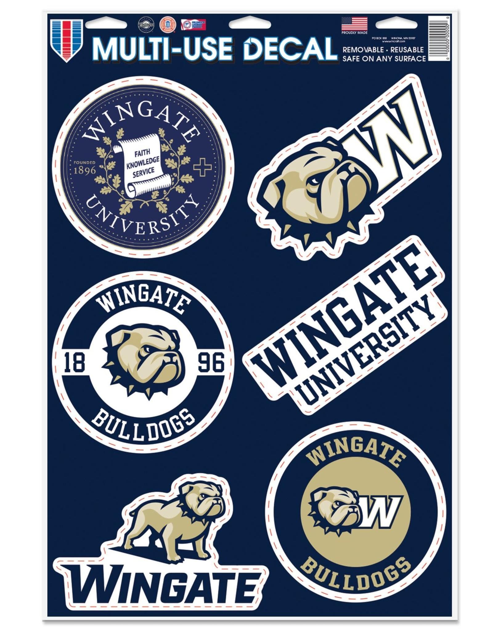 Wincraft 11 x 17 Large Multi Use Sticker Decal Sheet