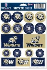 Wincraft 5 x 7 Small Sticker Sheet