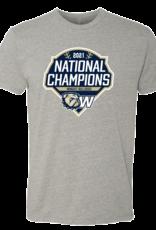 Next Level Grey Baseball National Championship 2021 SS Tee