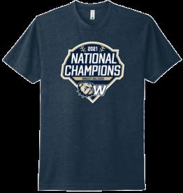 Next Level Navy Baseball National Championship 2021 SS Tee