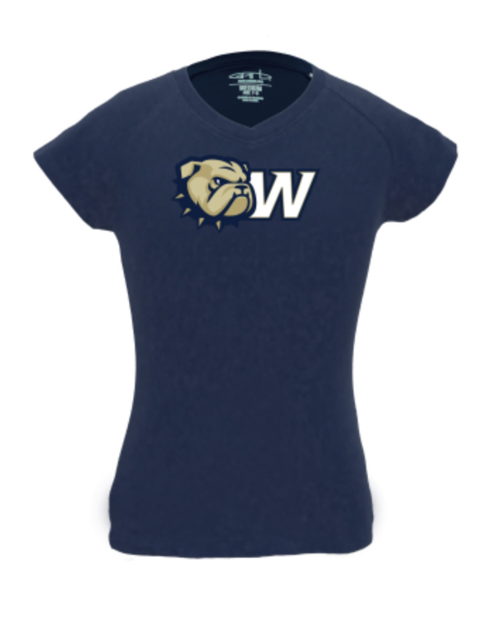 Garb Toddler Navy New Dog Head W Vickie Vneck SS Tee