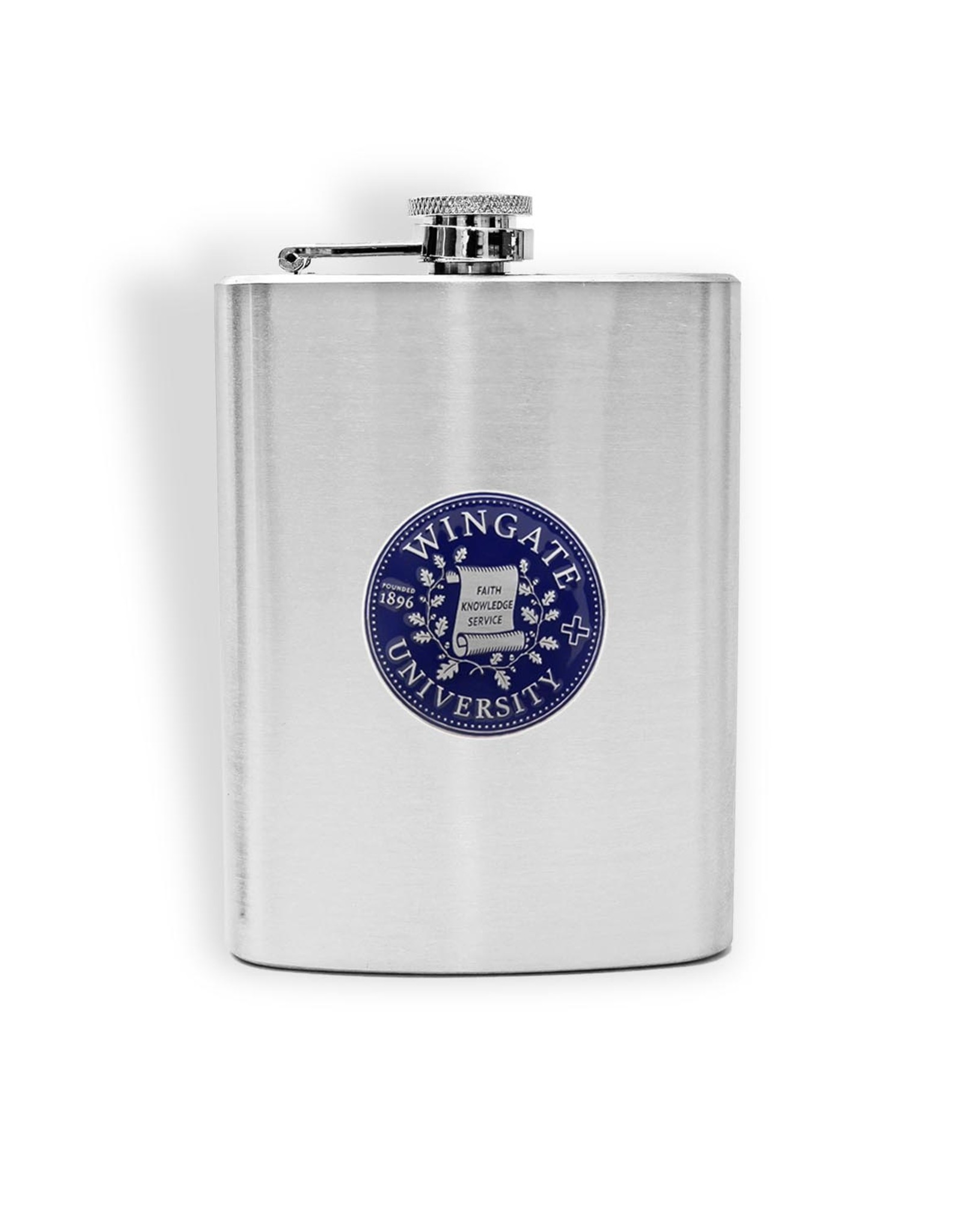 Jardine 8oz Stainless Steel Pocket Canteen Flask