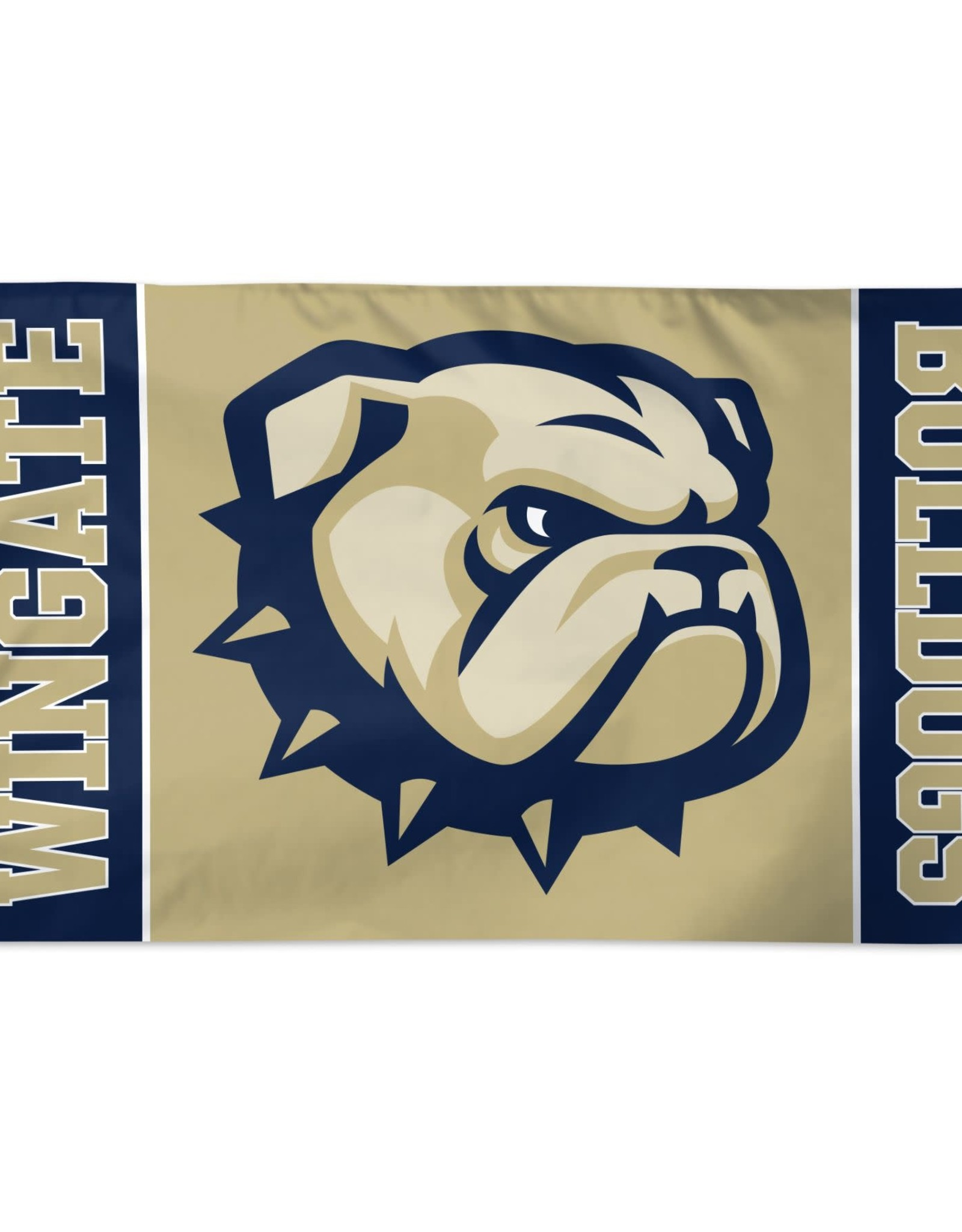 Wincraft 3 x 5 Deluxe Flag New Dog Head Wingate Bulldogs