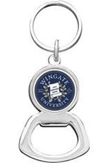 Jardine Bottle Opener Keychain Silver Seal
