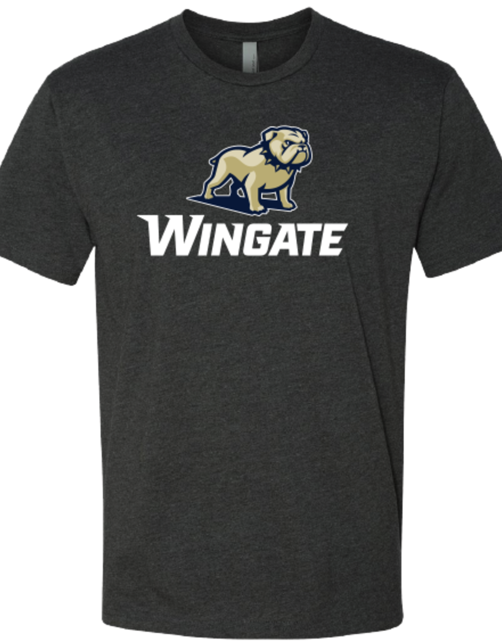 Next Level Charcoal New Full Dog Over Wingate SS Tee
