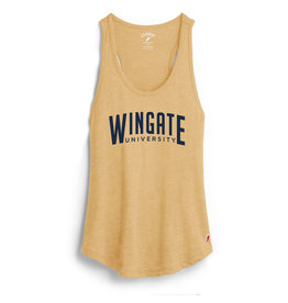 League Gold Wingate University Varsity Tank