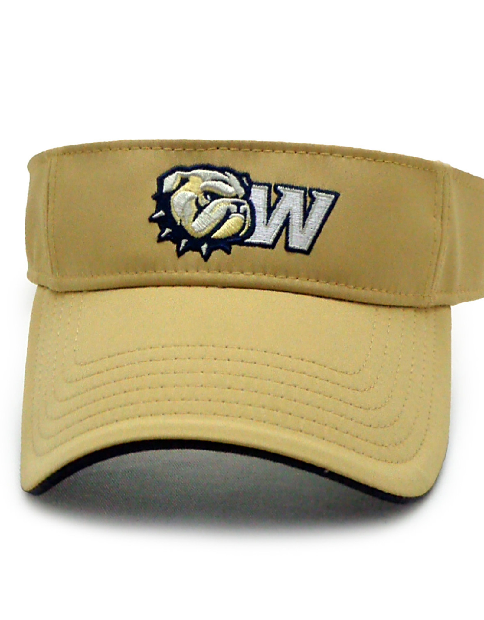 The Game New Dog Head W Vegas Gold Visor
