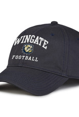 The Game Deep Navy Wingate New Dog Head Football Unstructured Adjustable Hat
