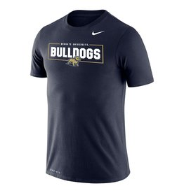 Nike Navy Legend Wingate University Bulldogs New Full Dog SS