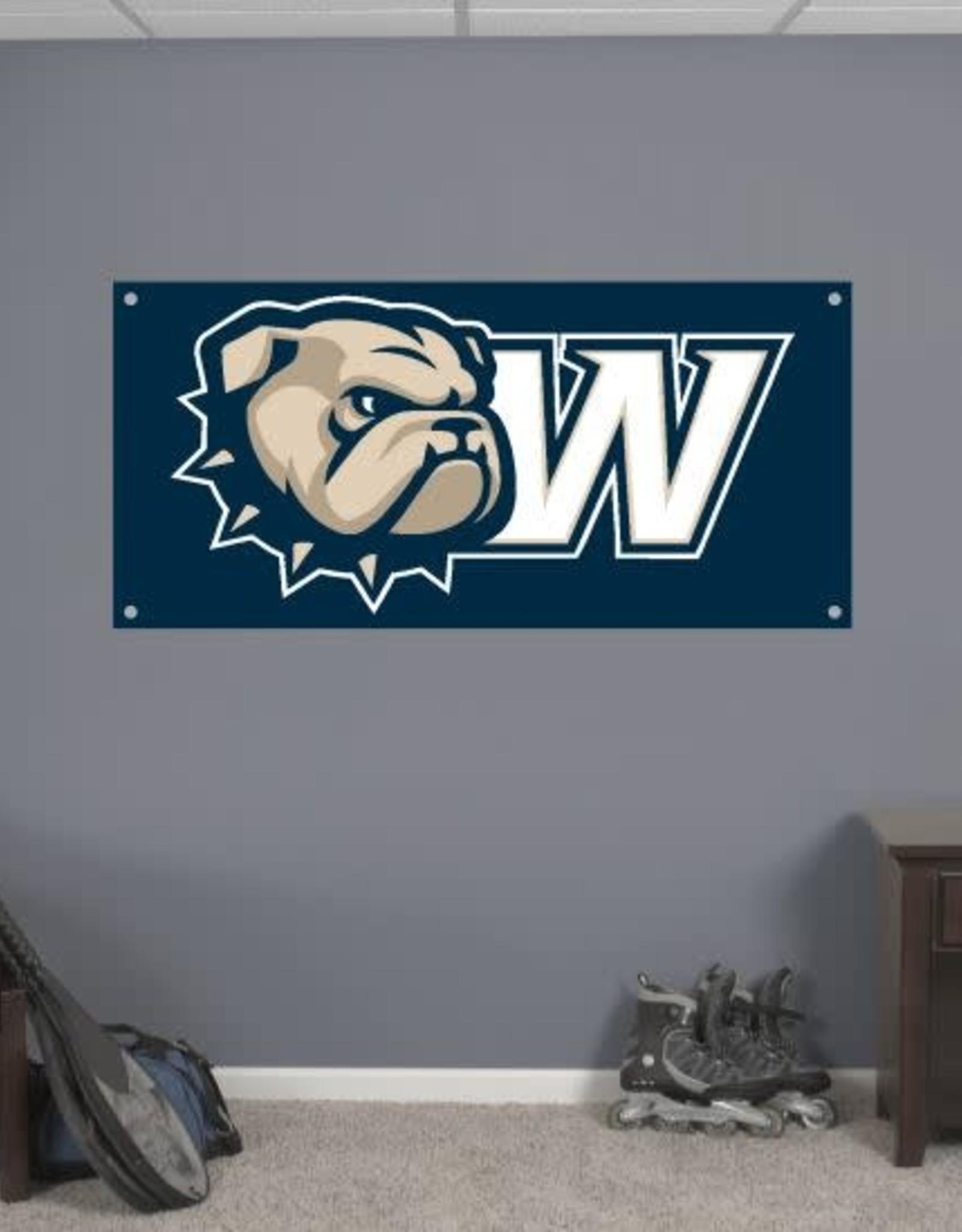 CDI 2' x 4' New Dog Head W Gametime Banner