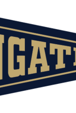 Collegiate Pacific 6 x 15 New Navy Wingate Pennant