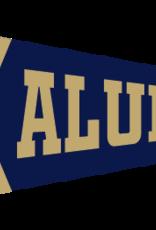 Collegiate Pacific 12 x 30  New Seal Alumni Flock Pennant