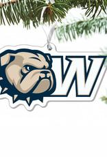 CDI Acrylic Ornament New Dog Head W Logo