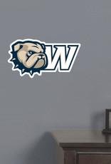 CDI Cut To Shape Wall Decal New Dog Head W Logo