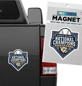 """CDI 6"""" Baseball Championship Car Magnets"""