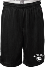 "Black 9"" Champion Mesh Athletic Shorts"