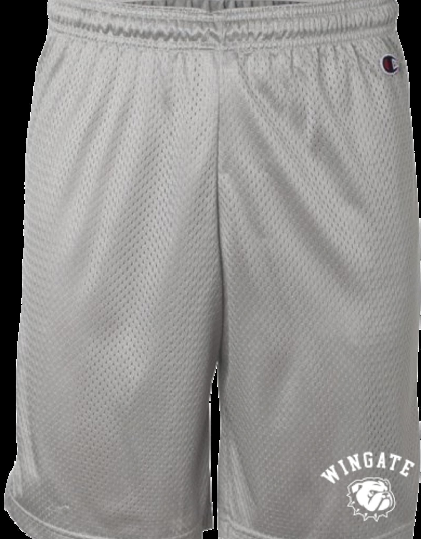 "Champion Grey 9"" Champion Mesh Athletic Shorts"