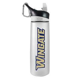 The Fanatic Group Wingate 24oz White Frosted Sports Bottle