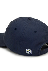 The Game Navy Adjustable New W Half Dog Unstructured Hat