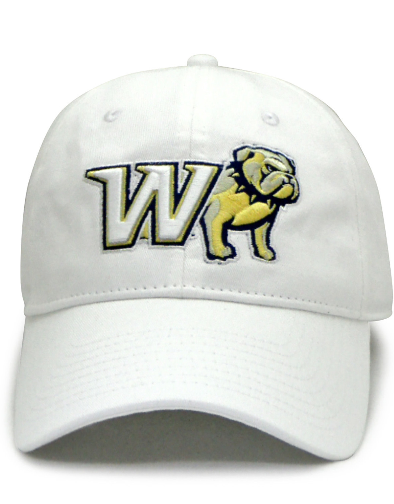 The Game White Adjustable New W Half Dog Unstructured Hat