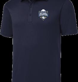 Sport Tek Navy Baseball Championship Embroidered Polo