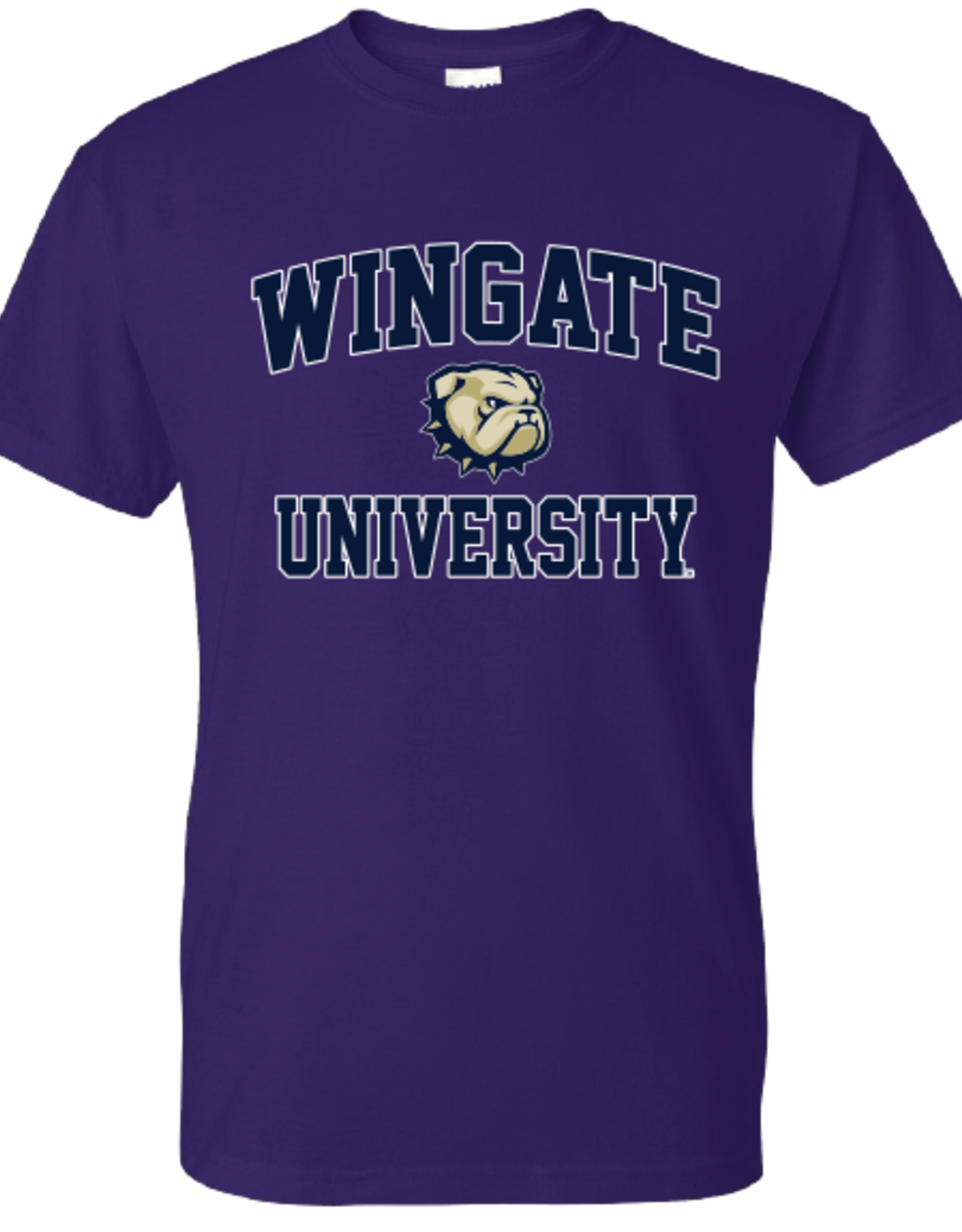 Gildan Youth Purple Wingate University New Dog SS Tee