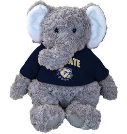 "Mascot Factory 9"" Grey Elephant Cuddle Buddy Plush"