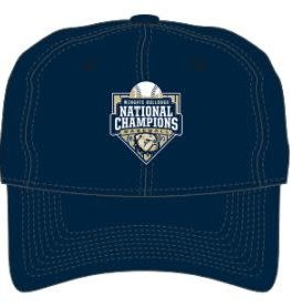 The Game New 2021 Baseball National Championship Performance Unstructured Adjustable Hat