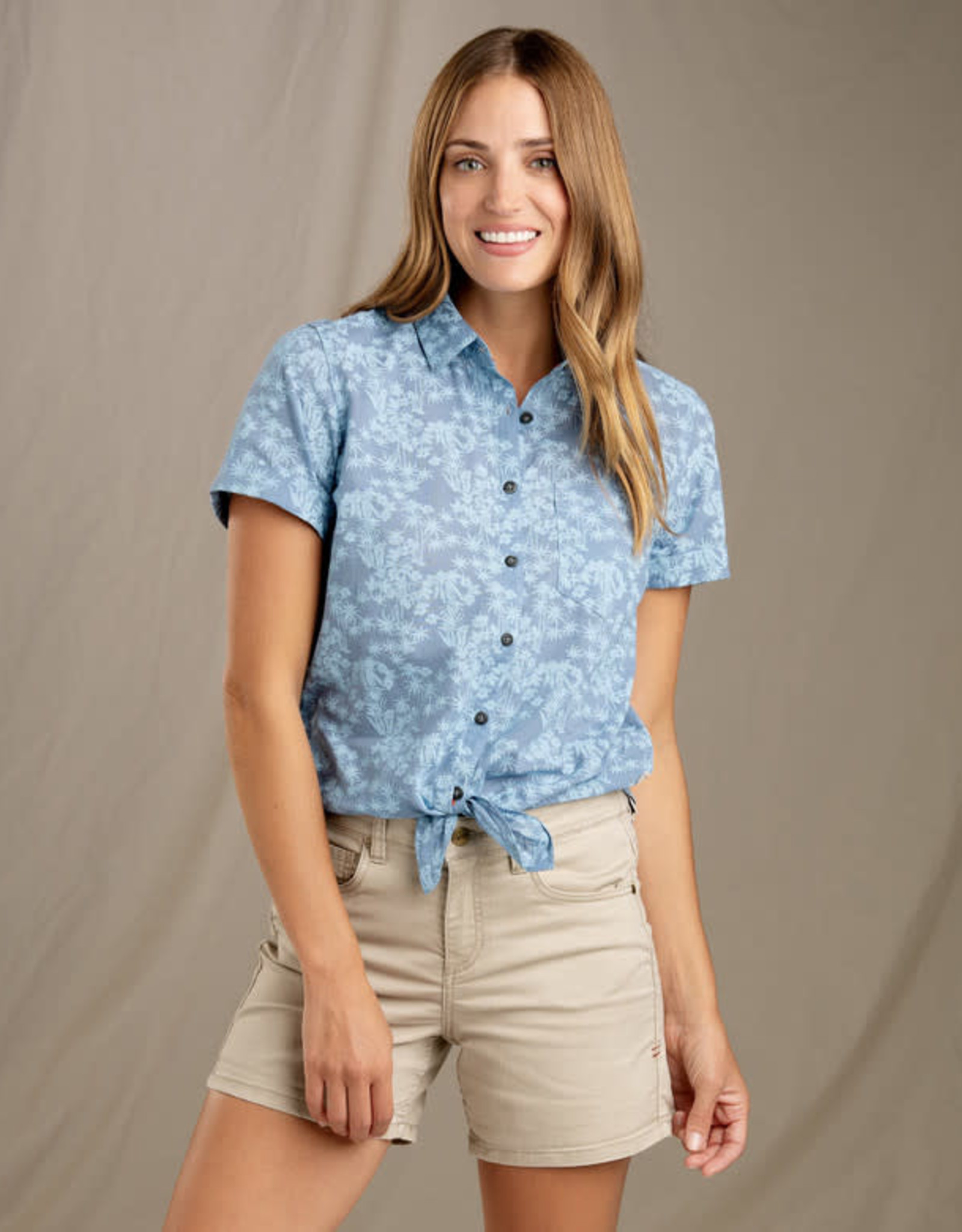 Toad&Co Indigo for it short sleeve