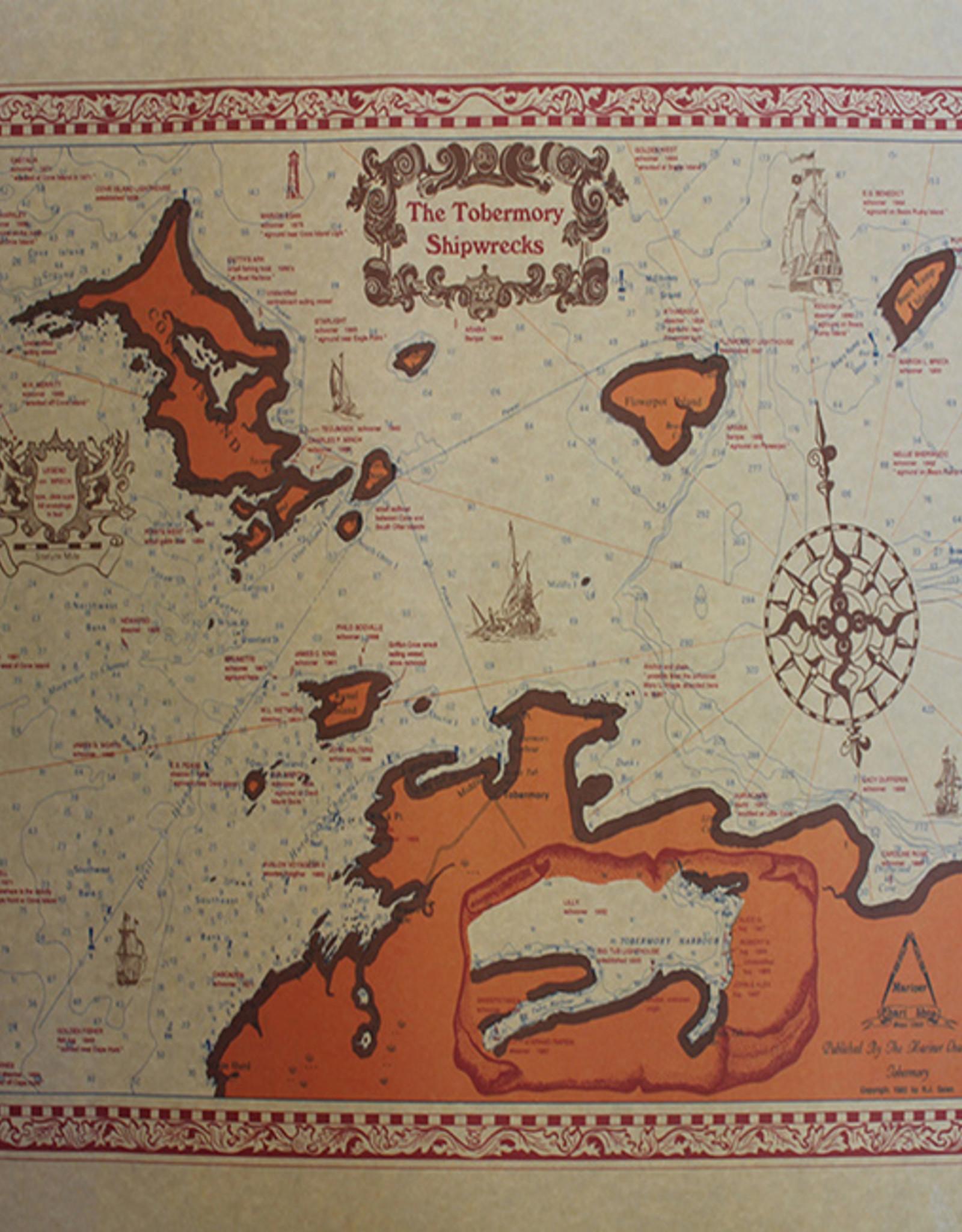 Tobermory Shipwreck Chart