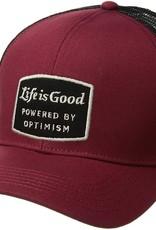 Life Is Good Power Hard Mesh Back Cap