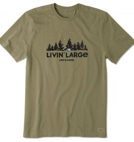 Life Is Good M Living Large Tee