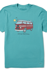 Life Is Good M Outlook Mostly Sunny Tee
