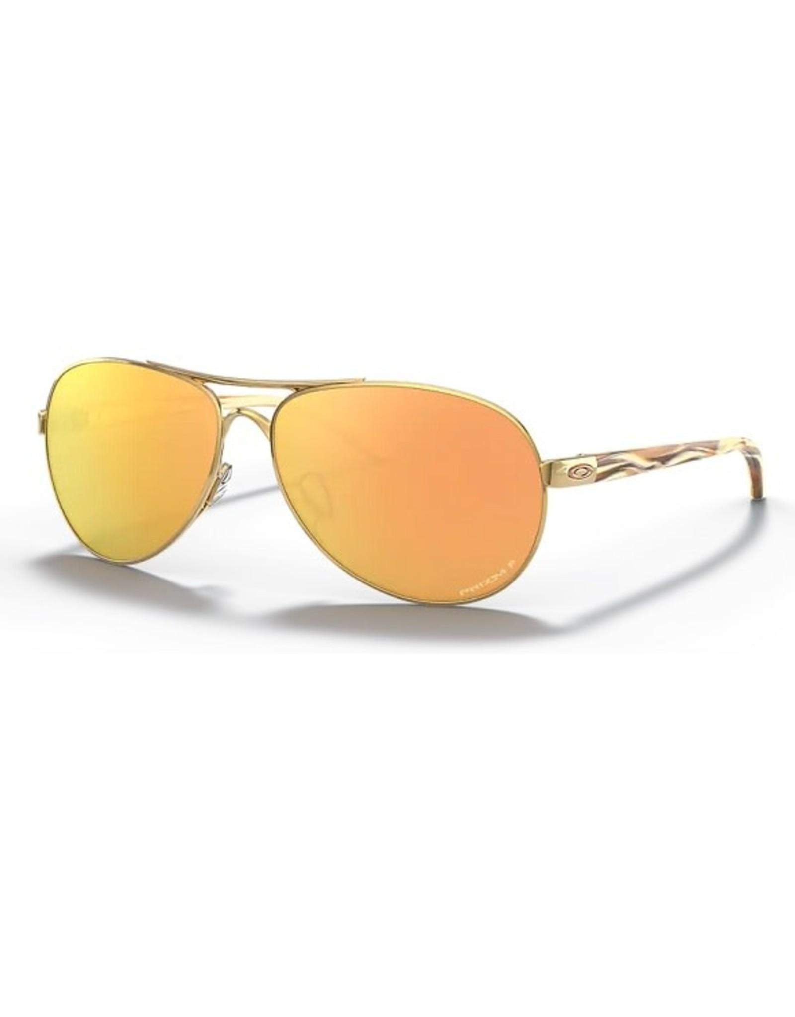 Oakley FEEDBACK Polished Gold, Prizm Rose Gold Iridium Polarized