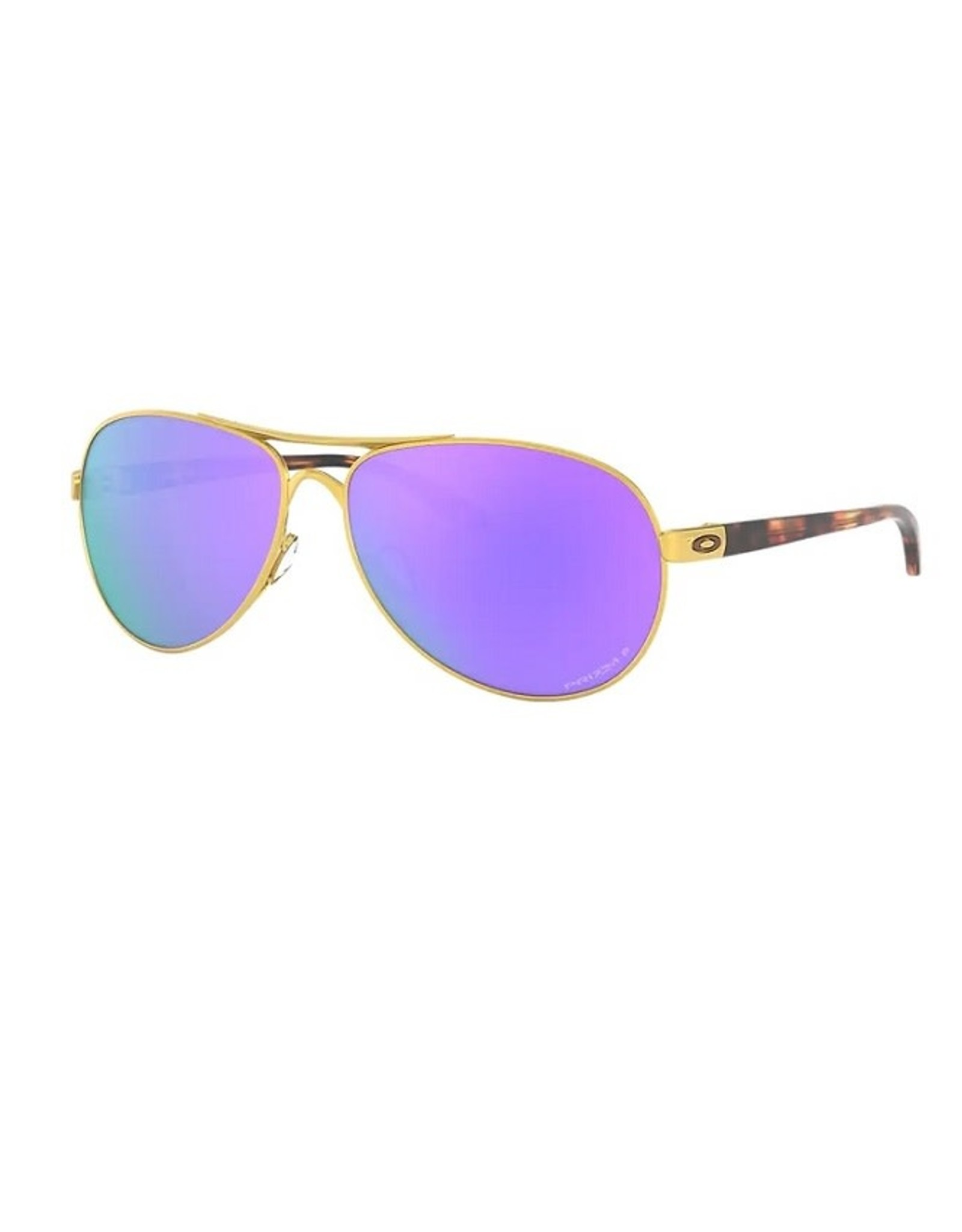 Oakley FEEDBACK Satin Gold, Prizm Violet Iridium Polarized