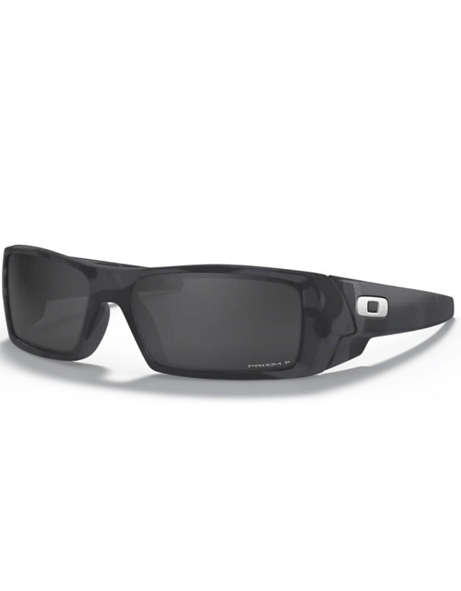 Oakley GASCAN Matte Black Camo, Prizm Black Iridium Polarized