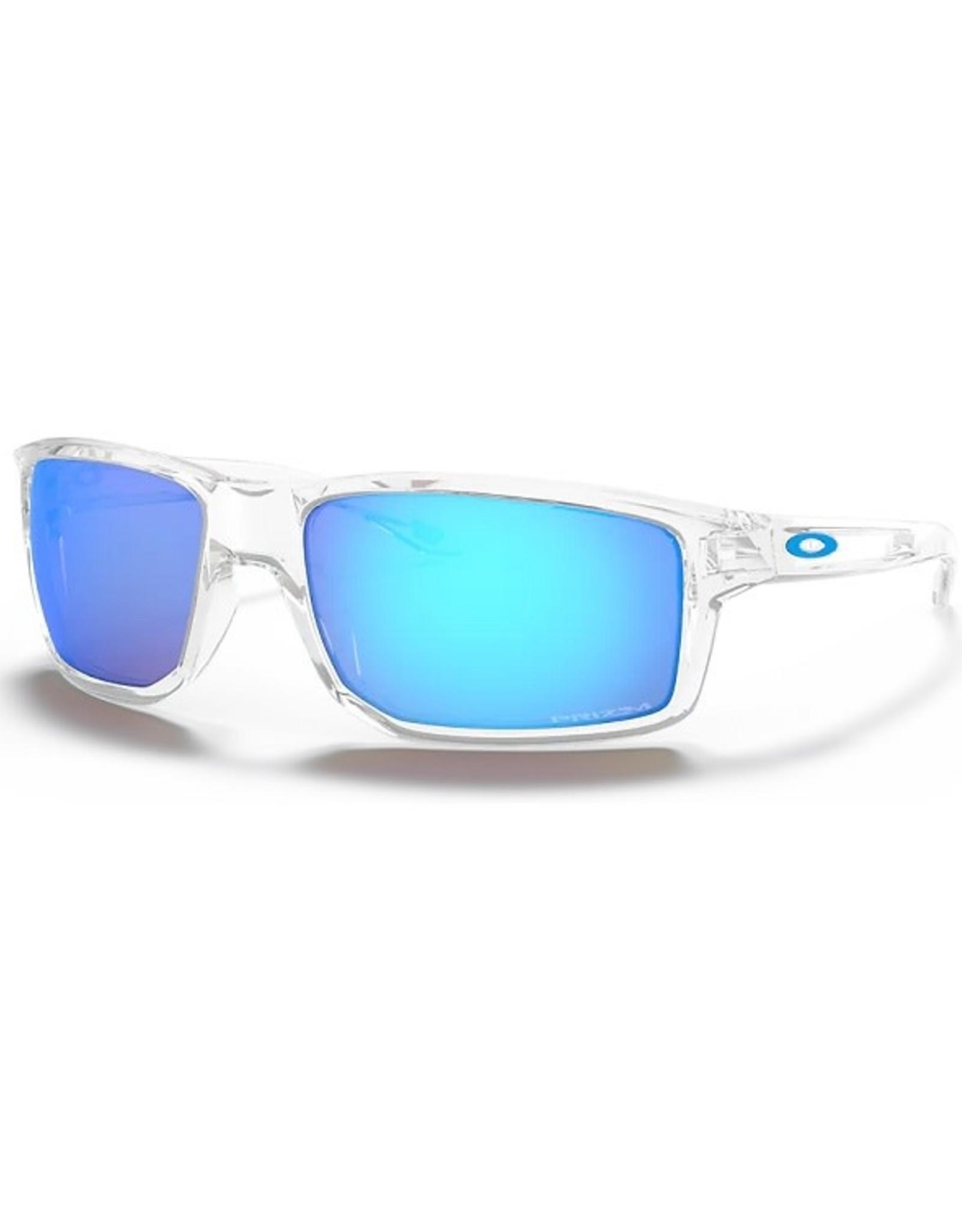 Oakley GIBSTON Polished Clear, Prizm Sapphire Iridium