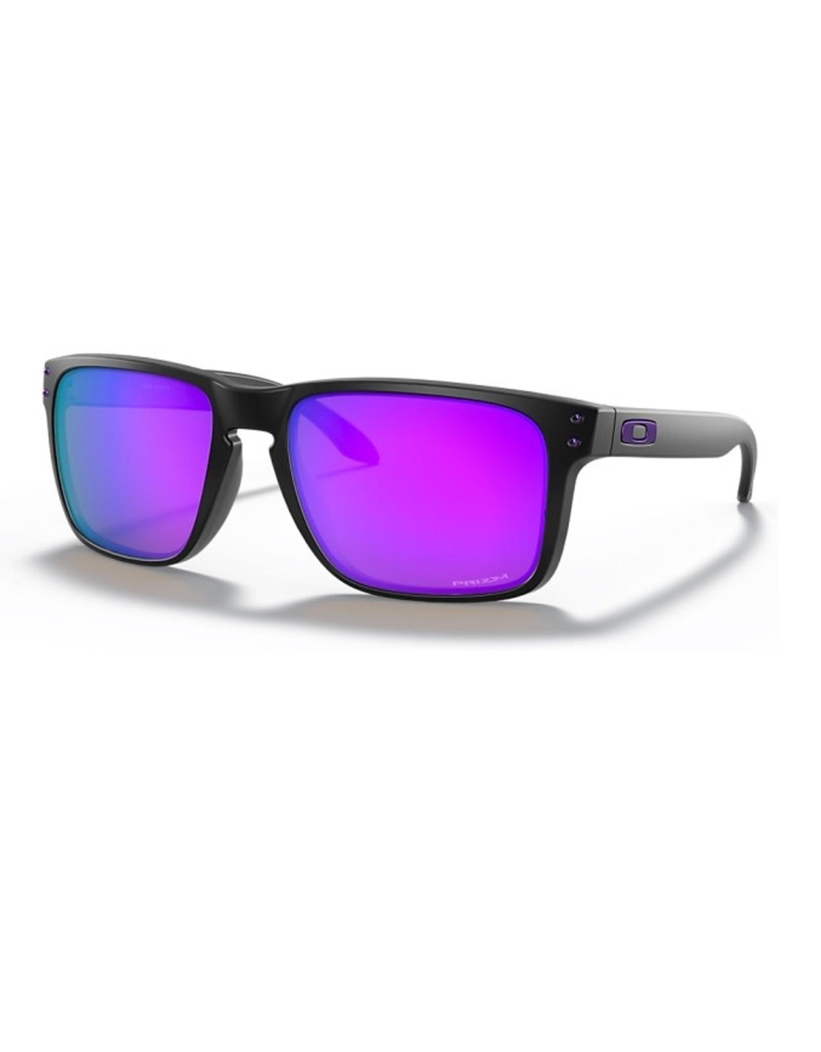 Oakley HOLBROOK XL Matte Black, Prizm Violet Iridium
