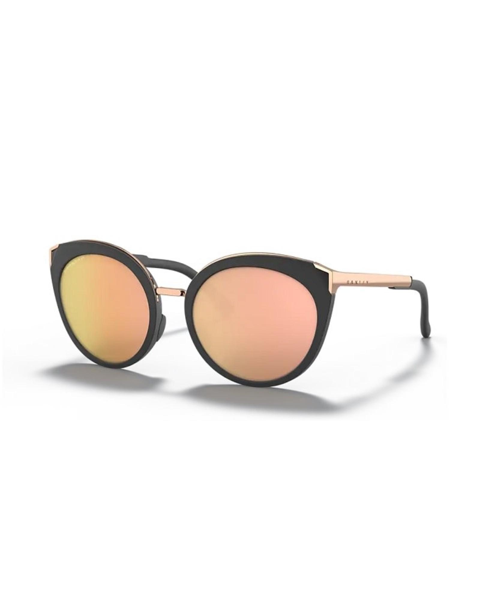 Oakley TOP KNOT Velvet Black, Prizm Rose Gold Iridium Polarized